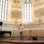 Krásné místo na zpívaní-zde jsem zpíval velice rád...