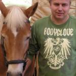 Památka na první jízdu na koni