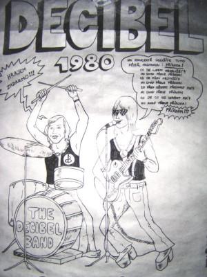 Plakát Decibelu