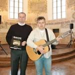 s Danem PORAZILEM na křtu jeho knihy Rallye psaná srdcem