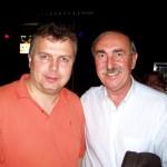 s Jirkou Holečkem v klubu MISCH MASCH