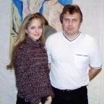 s Luckou ČERNÍKOVOU v klubu Branického divadla
