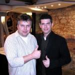 s Petrem MARTINÁKEM na představení nové Škody Fabia