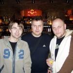 s Richardem PROCHÁZKOU a Karlem JAKŠEM z kapely ZLATÍ PAROHÁČI