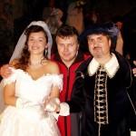 s Veronikou a Markem na svatbě
