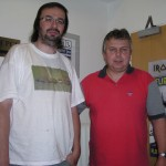 momentka s Milošem Kellerem - moderátorem Country radia